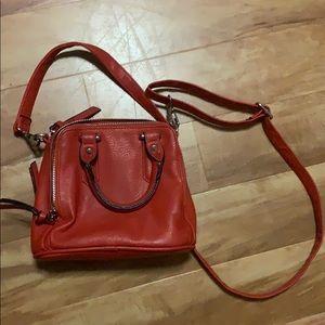 Red Free People Purse/Mini Bag/Crossbody